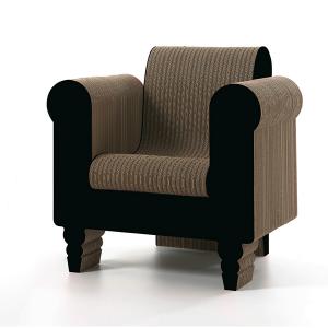 Chaises en carton - CLORINDA