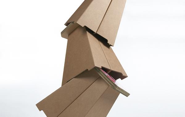 Mobiliers en carton - PUFFO BASSO