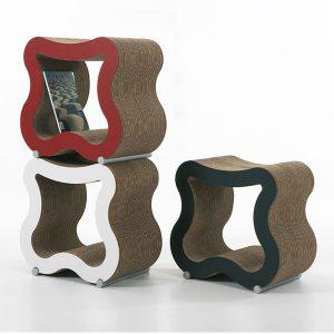 Chaises en carton - SGAS
