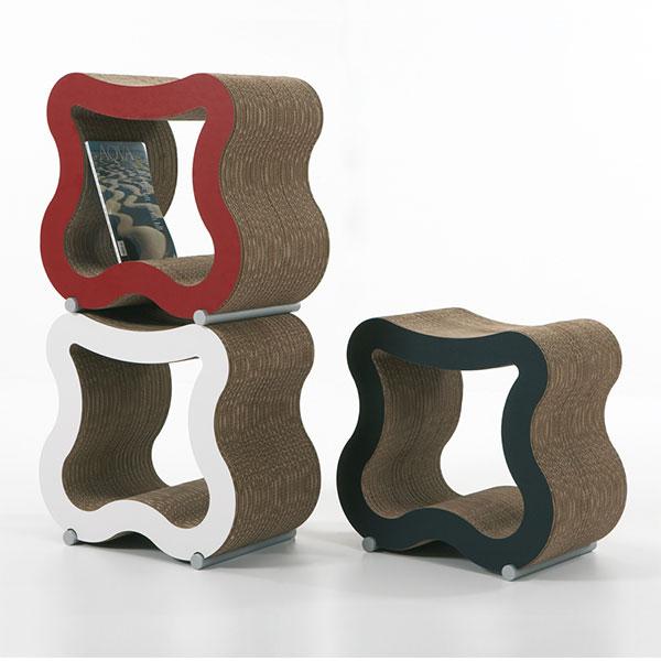 Chaises en carton – SGAS