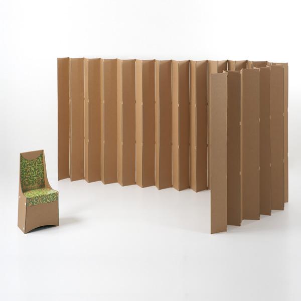 Mobiliers en carton - HAIKU