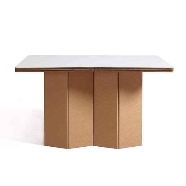 tables bureaux mobilier en carton architexture carton. Black Bedroom Furniture Sets. Home Design Ideas