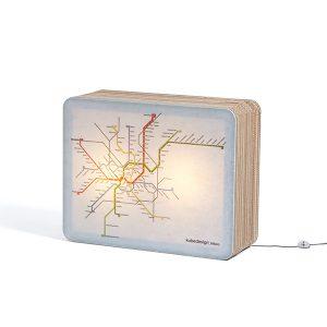mobilier en carton - metro