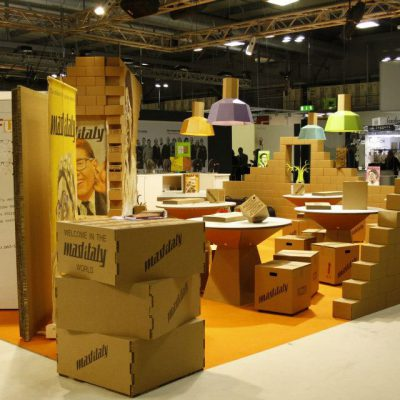 Mobiliers en carton - Mad in Italy 2013