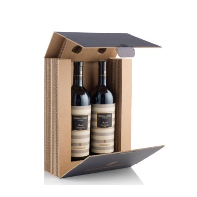 Mobiliers en carton - WINE BOX