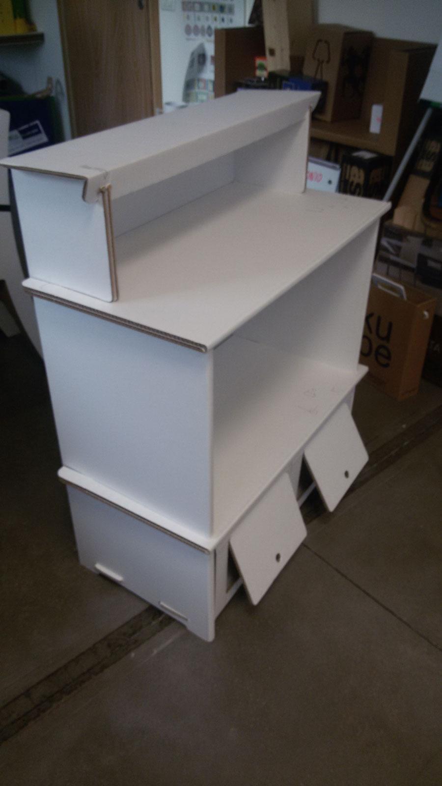 carrefour mobilier en carton architexture carton. Black Bedroom Furniture Sets. Home Design Ideas