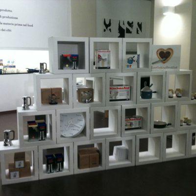 Mobiliers en carton - Macef (2011) – La Rinascente