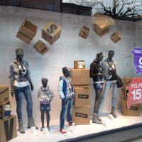 Mobiliers en carton - Visual merchandising – mobilier en carton