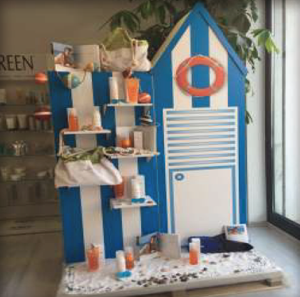 Visual merchandising - mobilier en carton